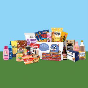 Monsterbox met producten